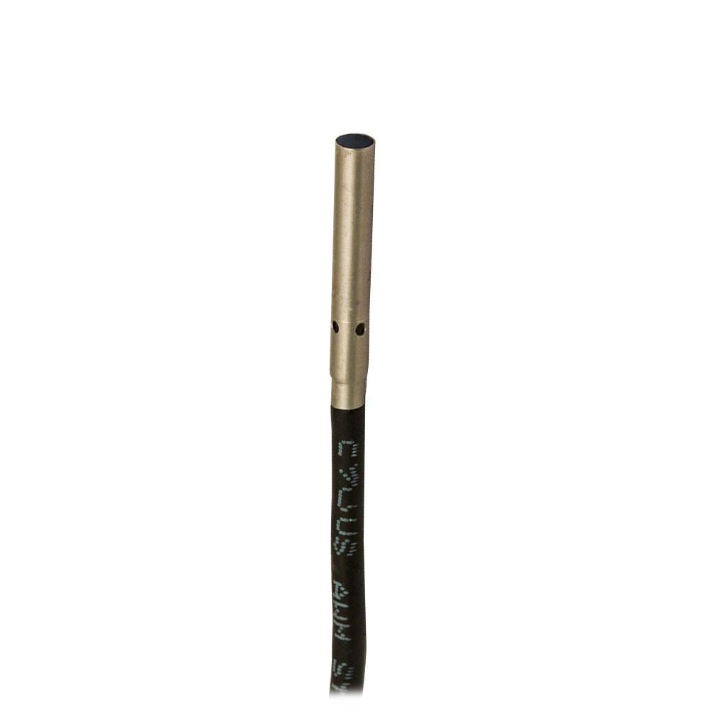 AA1/AN-1A M.D. Micro Detectors Индуктивный датчик Ø3, дальность действия 0,6 мм, NO/NPN, кабель 2м, осевой