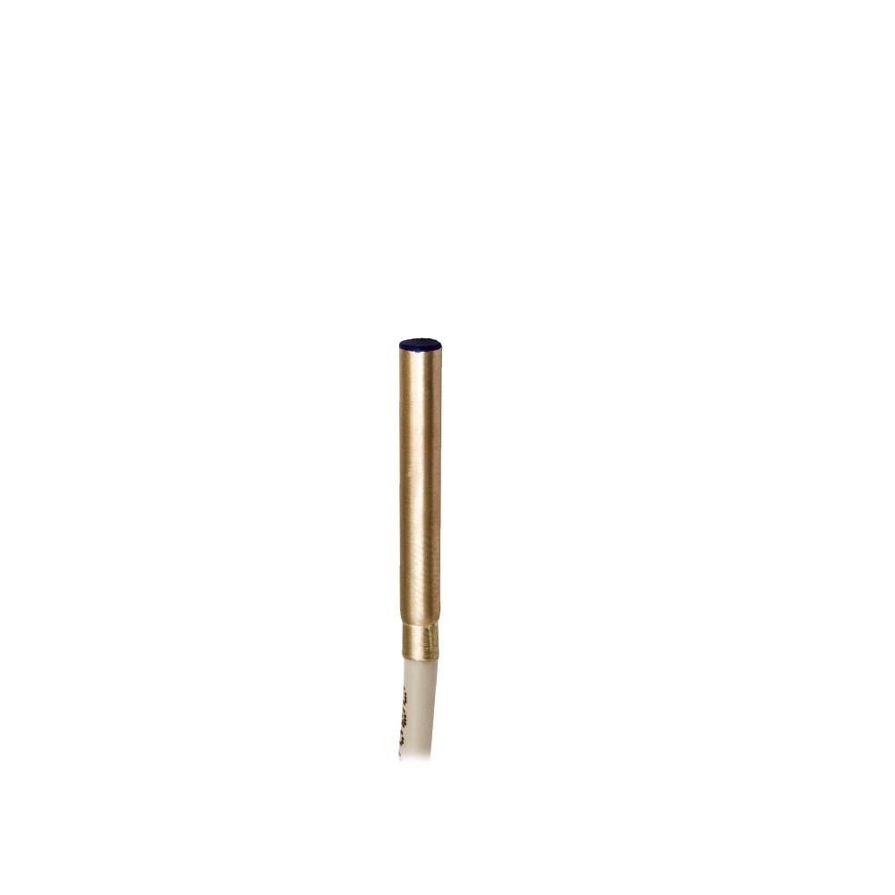 AC1/CP-1A M.D. Micro Detectors Индуктивный датчик Ø4, дальность действия 0,8 мм, NC/PNP, кабель 2м, осевой