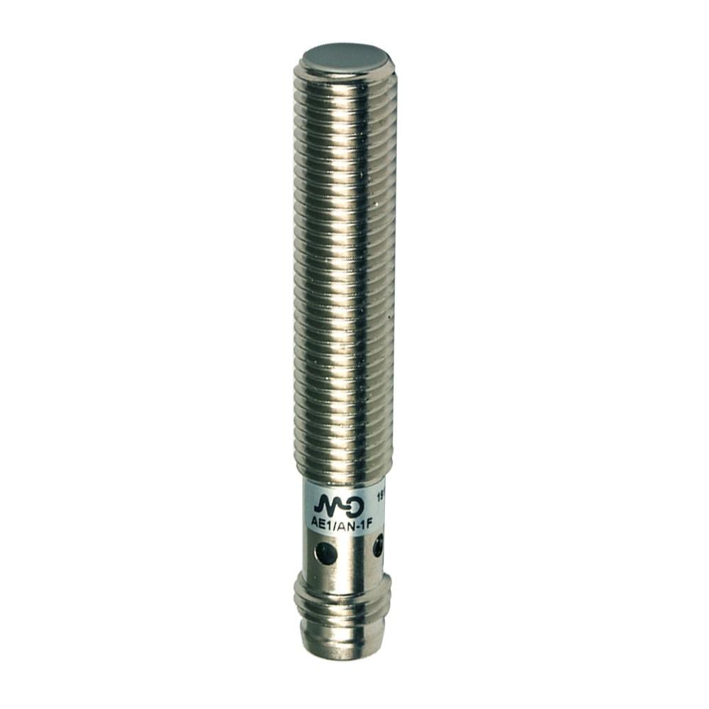 AE1/CP-1F M.D. Micro Detectors Индуктивный датчик M8, экранированный, NC/PNP, разъем M8