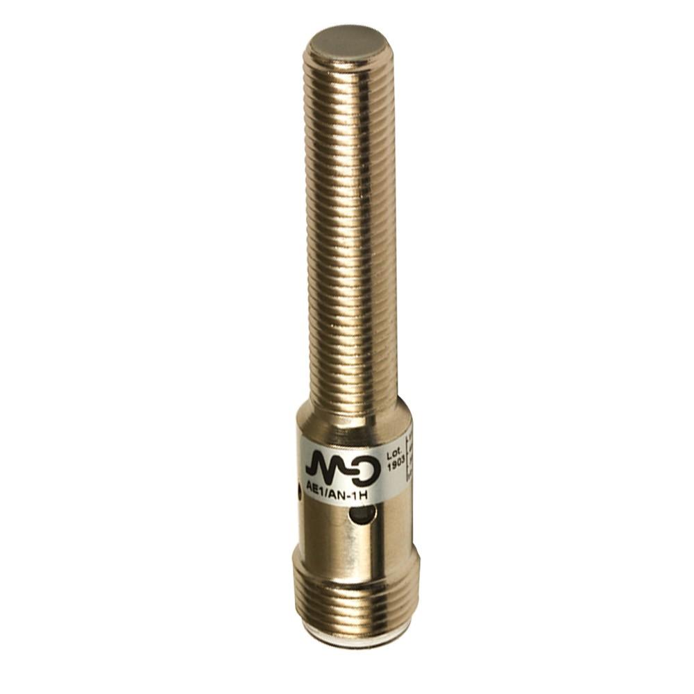AE1/AP-1H M.D. Micro Detectors Индуктивный датчик M8, экранированный, NO/PNP, разъем M12