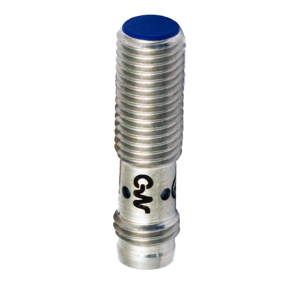 AES/CN-1F M.D. Micro Detectors Индуктивный датчик M8, дальность действия 1,5 мм, NC/NPN, штекер M8