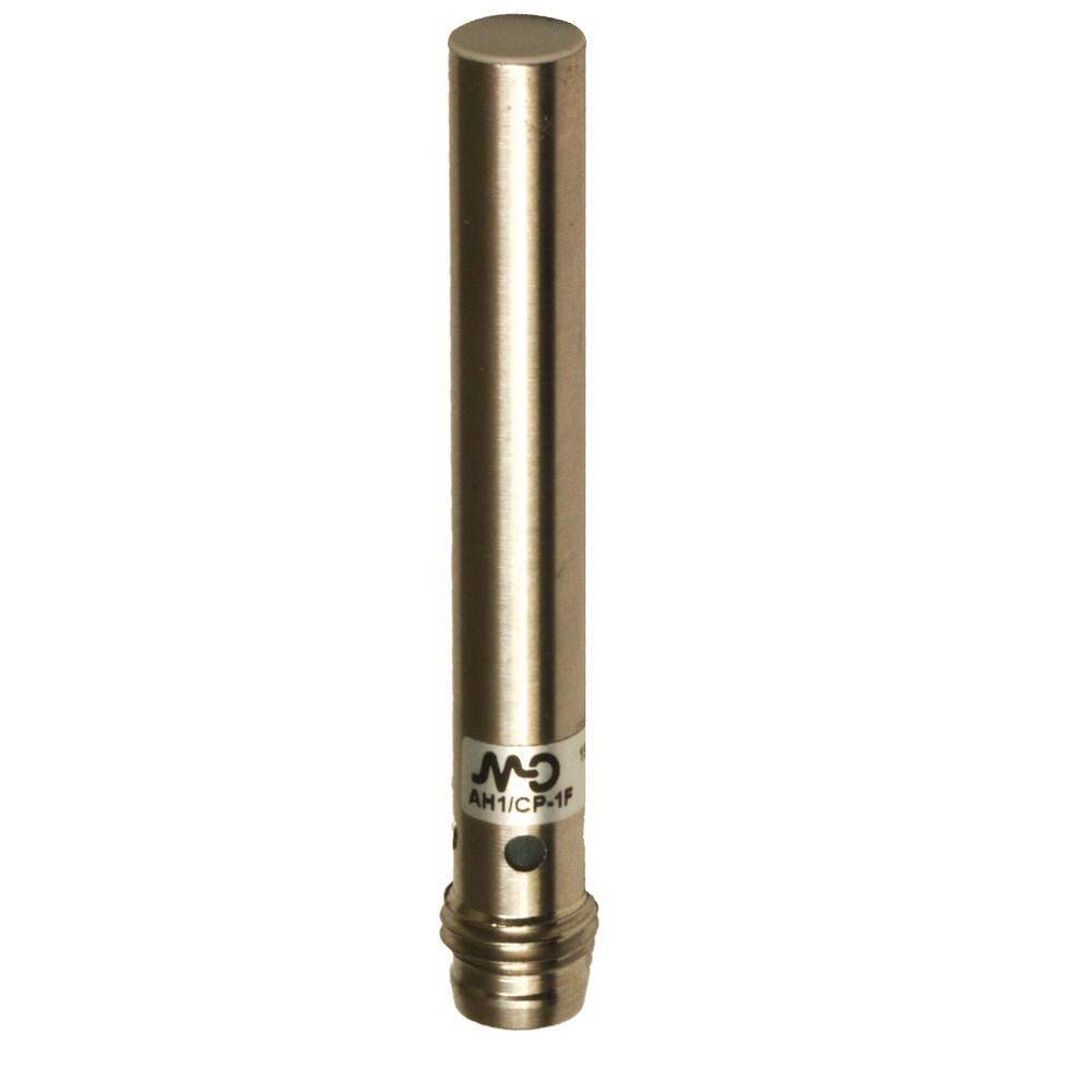 AH1/AN-1F M.D. Micro Detectors Индуктивный датчик D6,5 мм, экранированный, NO/NPN, штекер M8