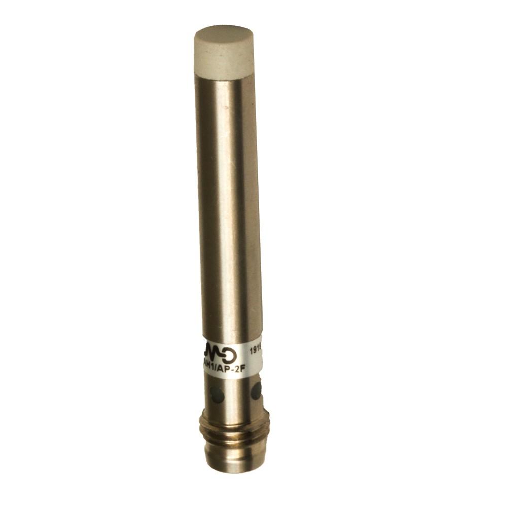 AH1/AP-4F M.D. Micro Detectors Индуктивный датчик D6,5 мм, LD неэкранированный, NO/PNP, штекер M8