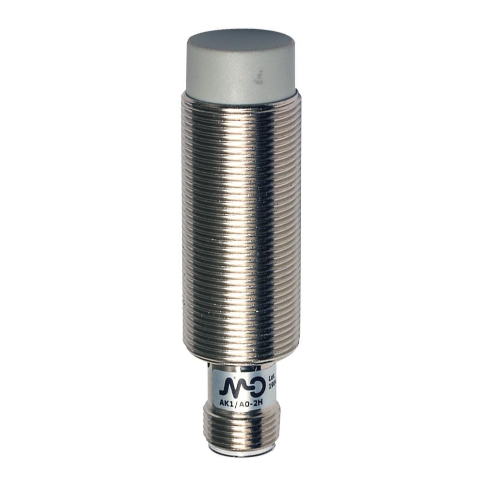 AK1/CP-2H M.D. Micro Detectors Индуктивный датчик M18, неэкранированный, NC/PNP, разъем M12