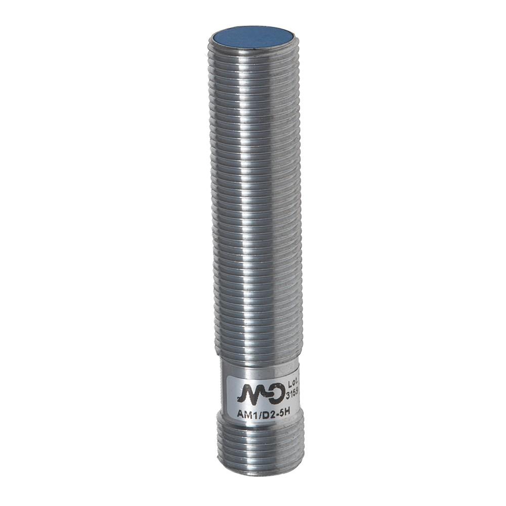 AM1/D2-5H M.D. Micro Detectors Индуктивный датчик M12, 0-10 В,+ 4-20 мА, разъем M12 дальность действия 6 мм
