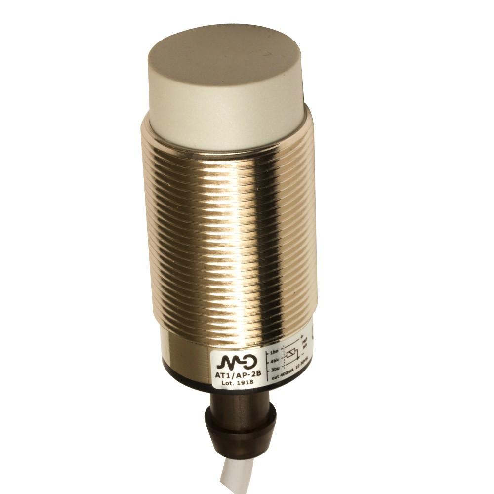 AT1/AP-2B M.D. Micro Detectors Индуктивный датчик M30, неэкранированный, NO/PNP