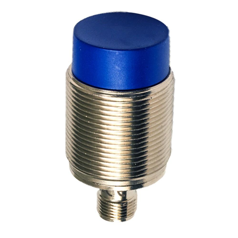 AT6/AN-2H M.D. Micro Detectors Индуктивный датчик M30, неэкранированный, короткий корпус, NO/NPN, разъем M12