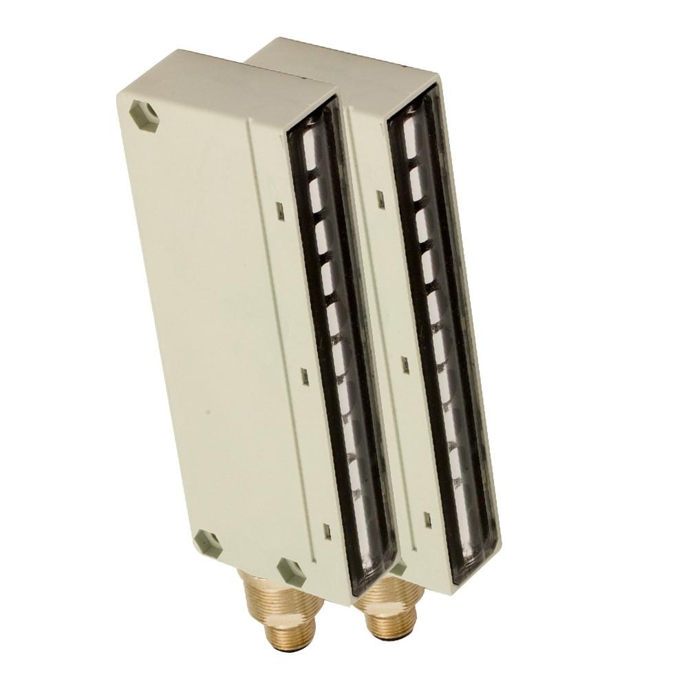 BX04SR/0A-AB M.D. Micro Detectors Барьерный датчик, комплект, 4 луча, регулируемый P+N DO, кабель 2м
