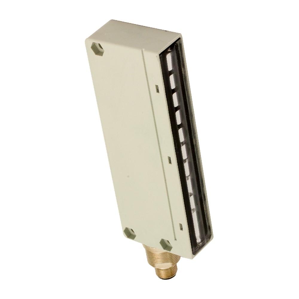 BX10S/00-HB6X M.D. Micro Detectors Барьерный датчик, излучатель, 10 лучей, регулируемый, разъем M12, 10-26В пост. тока, дальность действия = 0-4 м