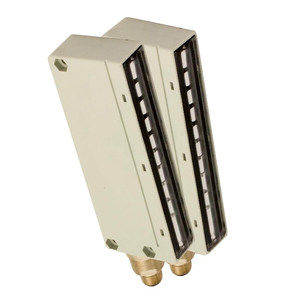 BX10SR/0A-AB M.D. Micro Detectors Барьерный датчик, комплект, 10 лучей, регулируемый, P+N, DO кабель 2м