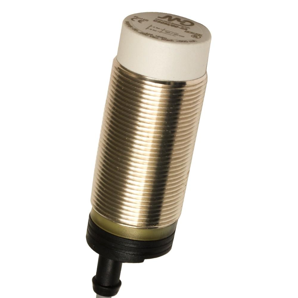 C30M/00-2A M.D. Micro Detectors Ёмкостный датчик M30, нерж. сталь, неэкранированный, AC 25мм NO/NC, кабель 2м, осевой