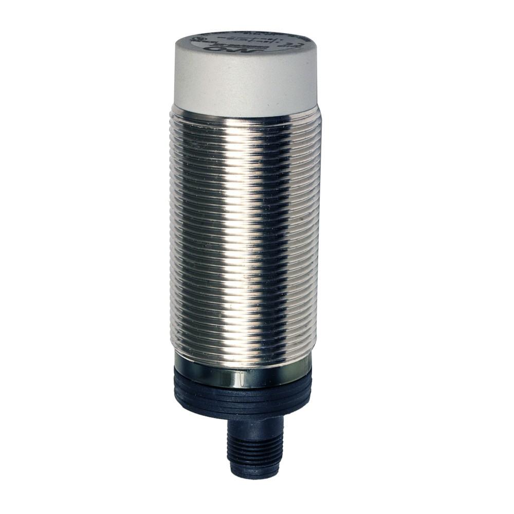 C30M/BP-2E M.D. Micro Detectors Ёмкостный датчик M30, нерж. сталь, неэкранированный, DC 25мм, PNP, NO+NC, разъем M12