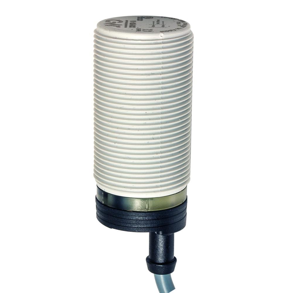 C30P/00-1A M.D. Micro Detectors Ёмкостный датчик M30, пластиковый, экранированный, AC 16мм NO/NC, кабель 2м, осевой