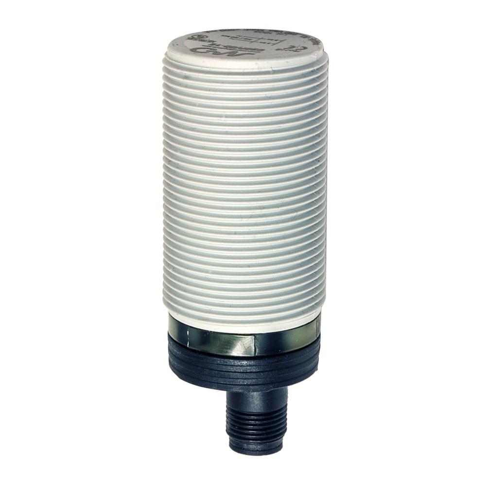 C30P/BP-1E M.D. Micro Detectors Ёмкостный датчик M30, пластиковый, экранированный, DC 16мм, PNP, NO+NC, разъем M12