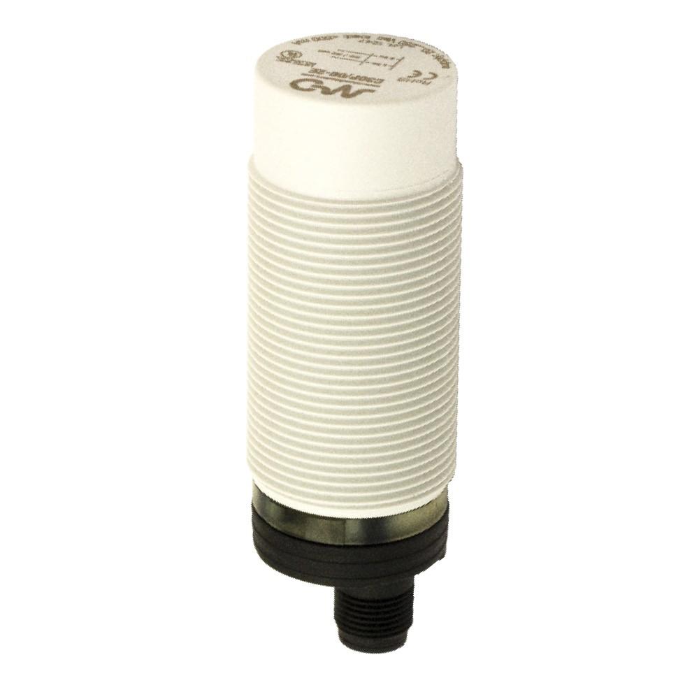 C30P/BP-2E M.D. Micro Detectors Ёмкостный датчик M30, пластиковый, неэкранированный, DC 25мм, PNP, NO+NC, разъем M12