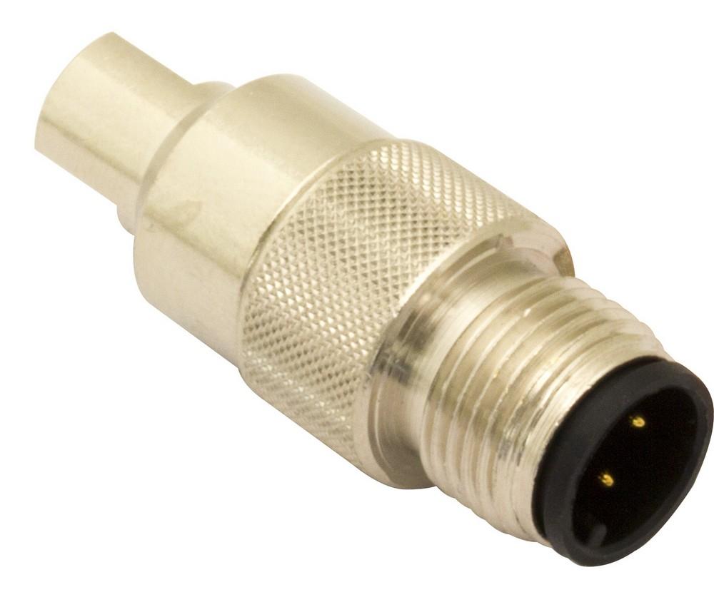 CDV-50 M.D. Micro Detectors Штыревой разъем M12 для кабеля диам. 5 мм