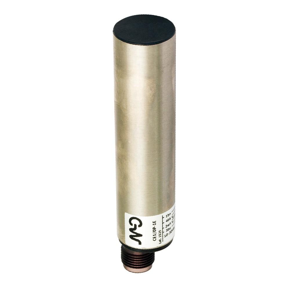 CE2/0P-1E M.D. Micro Detectors Ёмкостный датчик D20, экранированный, PNP, разъем M12 C/Autotest