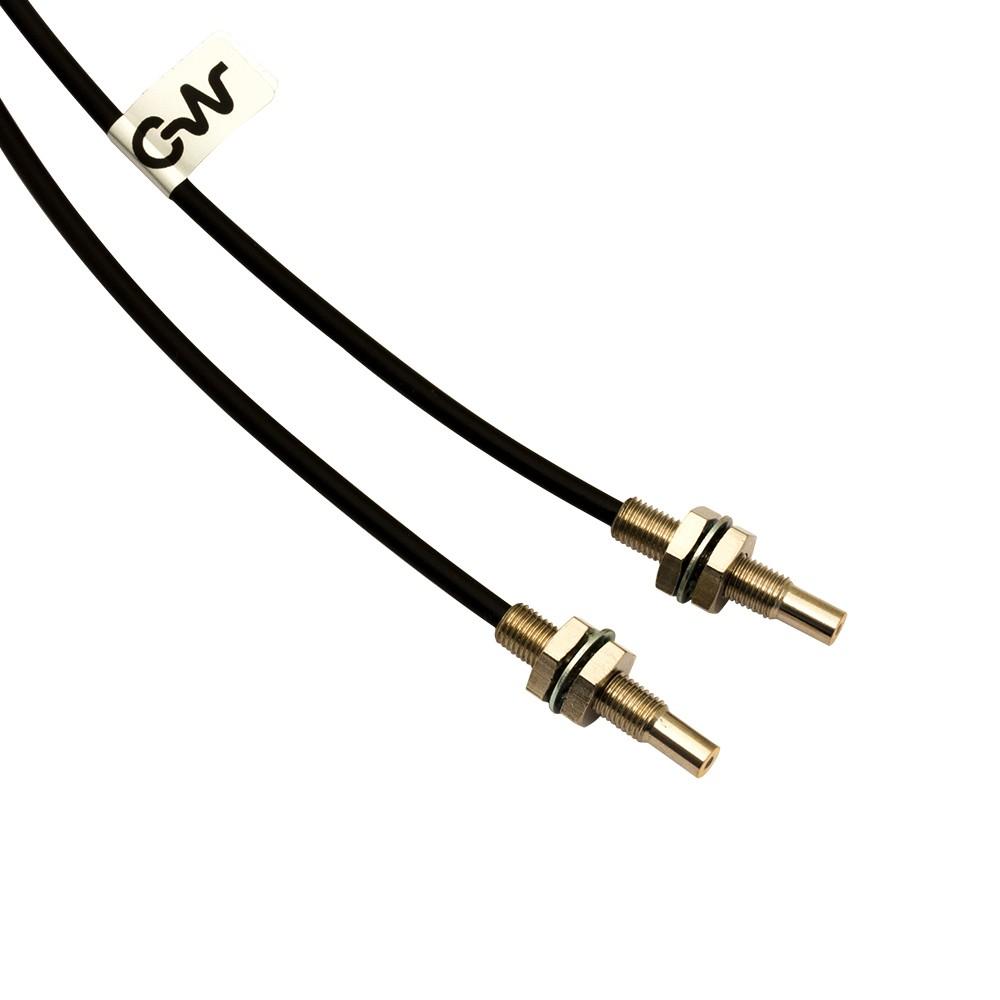 CF/RB6-20 M.D. Micro Detectors Сканирующая головка с оптоволоконным отрезным шнуром 2 м, излучатель/приемник