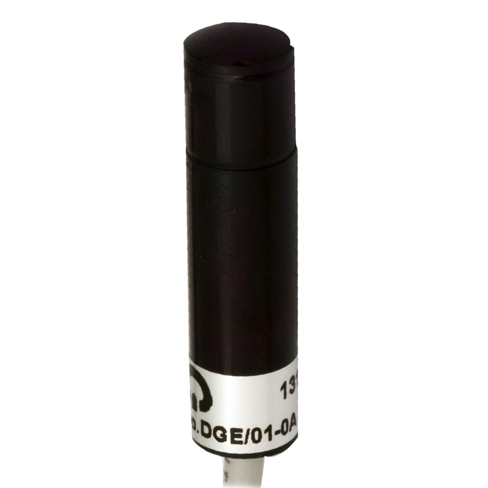 DGR/00-1C M.D. Micro Detectors Фотоэлектрический датчик, приемник, 60м, Ø10 мм, L46 мм, алюминиевый, Vtr 15 м