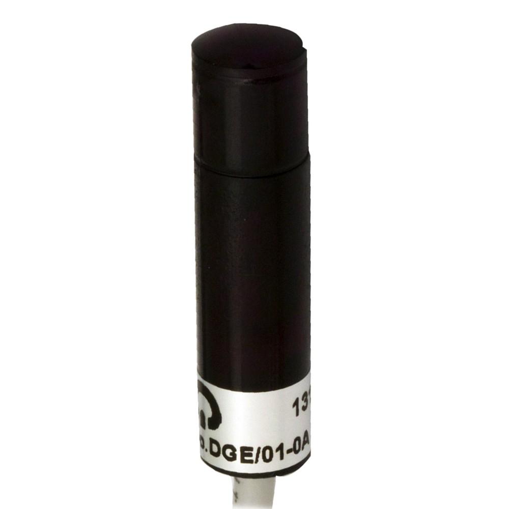 DGE/01-0C M.D. Micro Detectors Фотоэлектрический датчик, излучатель, 75м, Ø10 мм, L41 мм, пластиковый, 15 м