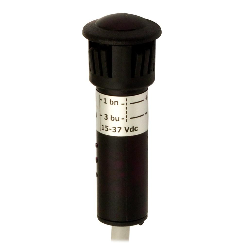DGR/DP-3DEA M.D. Micro Detectors Фотоэлектрический датчик, приемник, PNP, Don Ø10мм, зажим, Val=10…30В пост. тока, кабель 7 м