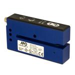 FC8U/0B-M307-1F M.D. Micro Detectors Щелевой датчик для обнаружения этикеток 3мм, широкий, ультразвуковая эмиссия PNP+NPN M8