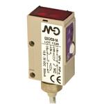 QX3/A0-1A M.D. Micro Detectors Фотоэлектрический датчик, диффузный, 300 мм, осевой, оптический, кабель 2м