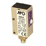 QX3/A0-1F M.D. Micro Detectors Фотоэлектрический датчик, диффузный, 300 мм, осевой, оптический, разъем M8