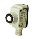 UQ1A/G6-0E M.D. Micro Detectors Ультразвуковой датчик, гибридный корпус, 40-300 мм. аналоговый 4-20 мА+ PNP NO/NC, разъем M12, с кнопкой обучения