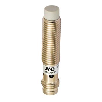 AE6/AN-2F Micro Detectors Индуктивный датчик, M8 короткий, неэкранированный, NO/NPN, разъем M8