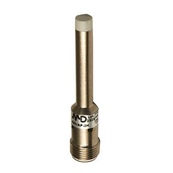 AH1/CP-2H M.D. Micro Detectors Индуктивный датчик D6,5 мм, неэкранированный, NC/PNP, штекер М12