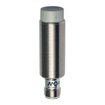AK1/CP-2H Micro Detectors Индуктивный датчик M18, неэкранированный, NC/PNP, разъем M12