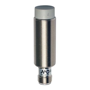 AK1/CP-4H M.D. Micro Detectors Индуктивный датчик M18, неэкранированный, NC/PNP, разъем M12