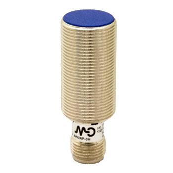 AK6/AP-1H M.D. Micro Detectors Индуктивный датчик M18 короткий, экранированный, NO/PNP, разъем M12