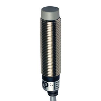 AM1/BP-2A Micro Detectors Индуктивный датчик M12, экранированный, NO+NC/PNP, кабель 2м, осевой