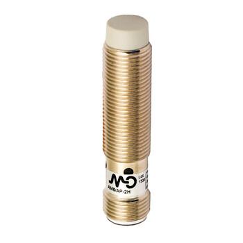 AM6/AP-2H Micro Detectors Индуктивный датчик M12 короткий, неэкранированный, NO/PNP, разъем M12