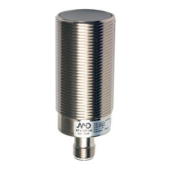 AT1/0P-3H M.D. Micro Detectors Индуктивный датчик M30, экранированный, Q/Qnot PNP, разъем M12