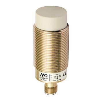 AT1/AN-4H M.D. Micro Detectors Индуктивный датчик M30, неэкранированный, NO/NPN, разъем M12
