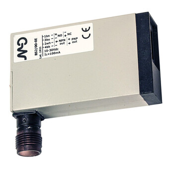 BS2/00-0E M.D. Micro Detectors Фотоэлектрический датчик, диффузный, 100 мм, разъем M12