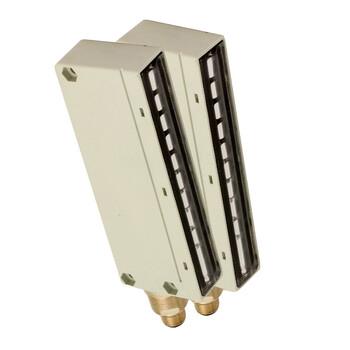 BX10SR/0A-AB Micro Detectors Барьерный датчик, комплект, 10 лучей, регулируемый, P+N, DO кабель 2м