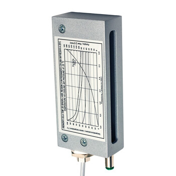 BX80A/3P-1A M.D. Micro Detectors Барьерный датчик, приемник, 1м, 3мс PNP NO/NC, кабель 2м с алюминиевым корпусом