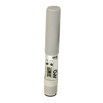C12P/00-3E Micro Detectors Ёмкостный датчик M12, пластиковый, экранированный, DC 8мм PNP/NPN NO/NC, разъем M12
