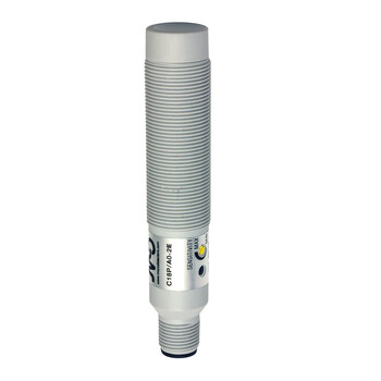 C18P/C0-2E M.D. Micro Detectors Ёмкостный датчик M18, пластиковый, неэкранированный, AC 12мм NC, разъем M12