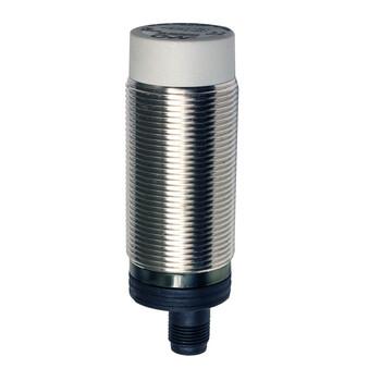 C30M/00-2E M.D. Micro Detectors Ёмкостный датчик M30, нерж. сталь, неэкранированный, AC 25мм NO/NC, разъем M12