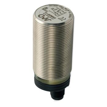 C30M/BP-1E Micro Detectors Ёмкостный датчик M30, нерж. сталь, экранированный, DC 16мм, PNP, NO+NC, разъем M12