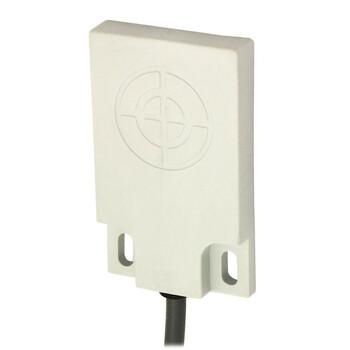 CQ50/AN-2A M.D. Micro Detectors Ёмкостный датчик, кубический, пластиковый, DC 6мм, NPN, NO, кабель 2м, 90°