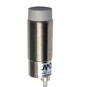 CT1/AP-2A M.D. Micro Detectors Ёмкостный датчик M30, неэкранированный, NO/PNP, кабель 2м, осевой