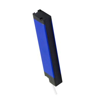 CX2E0RB/05-048V M.D. Micro Detectors Барьерный датчик, один кабель синх., P: 5мм, H: 480мм, дальность действия 3м, Teach G/F, бланкирование, параллельные лучи